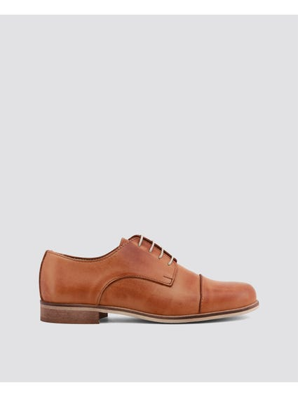 Brown Bolero Lace Up shoes