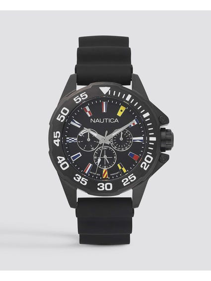Black Miami Classic Analog Watch
