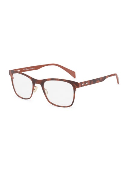 Brown Dotted Nose Bridge Wayfarer Eyeglass