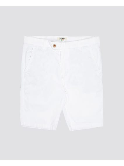 White Plain Kids Short
