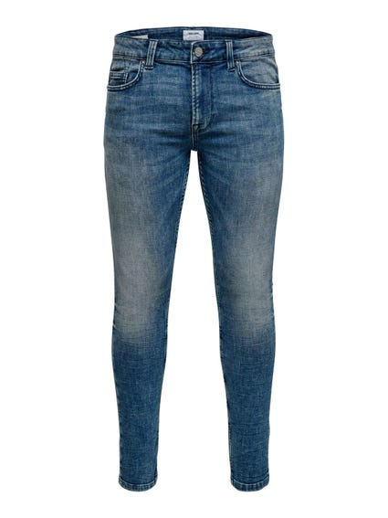Wash Denim Slim Fit Jeans