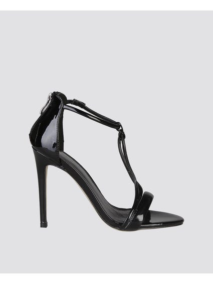 Odette Nero High Heel Sandals