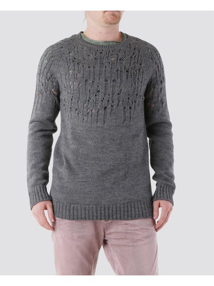 Repaired Pattern Knitwear