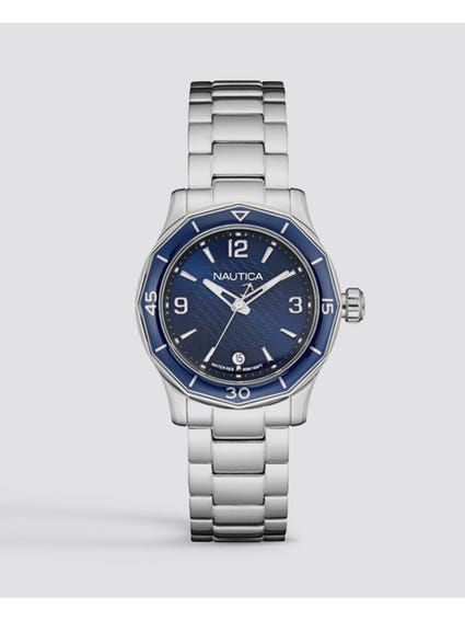 NWS 01 Navy Blue Dial Watch