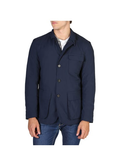 Collared Tri Pockets Jacket