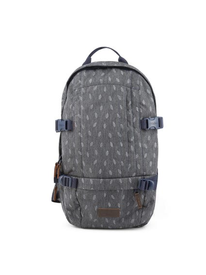 Printed Zipper Floid Backpack