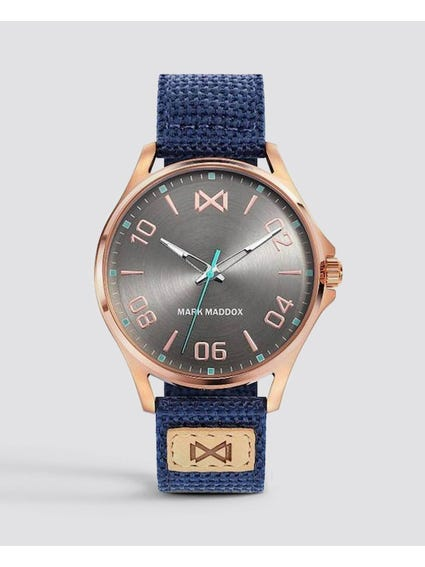 Fabric Strap Analog Watch